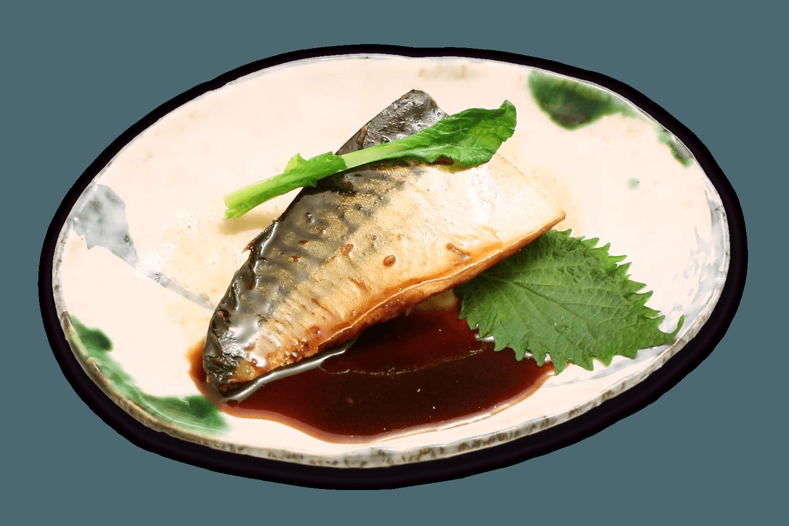 サバのお煮付け定食
