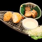エビカツ&豚の角煮定食