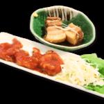 エビチリ&豚の角煮定食